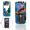 Blue Hard Plastic Mobile Phone Case Cover Protector for Sony Ericsson K750