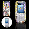 Couple Lovers Pattern Plastic Mobile Cell Phone Hard Case Cover for Sony Ericsson K700