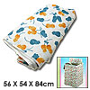 Flower Pattern Home Washer Washing Machine Guard Protector Cover