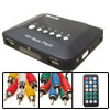 110-240V IR High Definition Black HD TV Multi Media Player US Plug