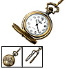 Fashion Jewelry Brass Motorcycle Men's Embossed Quartz Pocket Watch