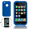 Blue Vortical Design Silicone Skin Case for Apple iPhone 3G