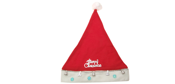 Red Holiday X'mas Christmas Santa Claus Plush Hat Cap Red
