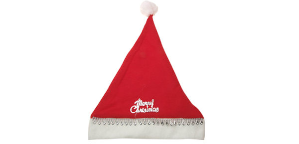 New Xmas Merry Christmas Red Santa Claus Holiday Christmas Hat Cap