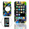 Hard Plastic Protective Case with Doodle Design for Apple iPhone 3G
