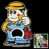 Pocket Size Cartoon Boy Handy Man Cap Bottle Metal Opener