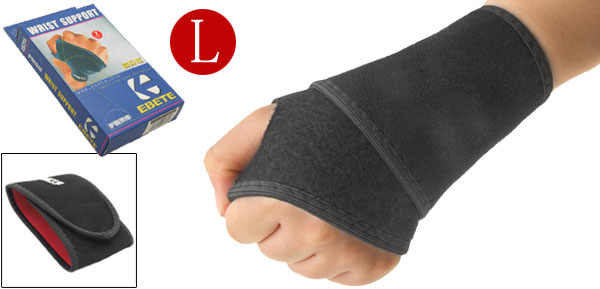 Neoprene Adjustable Sports Left Right Wrist Support Protector