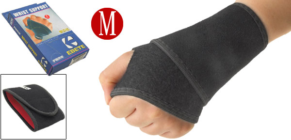 Middle Neoprene Adjustable Sports Left Right Wrist Support Protector