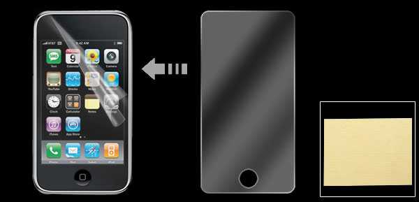 Anti-glare Full LCD Screen Protector Guard for iPod Touch