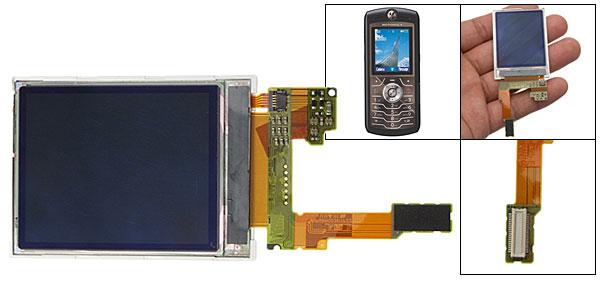 Replacement LCD Display Screen for Motorola SLVR L7