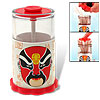 Classical Chinese Opera Mask Wapping Automatic Toothpick Holder