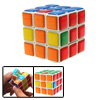 Magic Colorful Cube Brain Teaser Puzzle Toy for Children