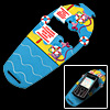 Non-Slip Decorative Foot Mobile Phone Mat Pad for LG Nokia