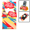 Colorful Soft Vinyl Plastic Mobile Phone Holder Stand