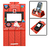 Soft Folding Holder Stand Red for Mobile Phone MP3 MP4
