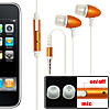 In-Ear Stereo Earphone Microphone with Clip for Phone