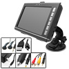 "bluetooth Portable Multimedia 7"" LCD Large Wide Touch Screen Car ..."