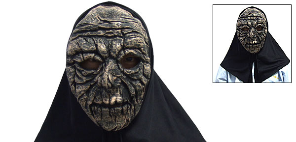 Gruesome High Nose Latex Halloween Mask Gray