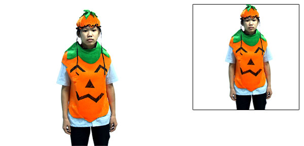 Funny Infant Plush Pumpkin Halloween Costume with Hat