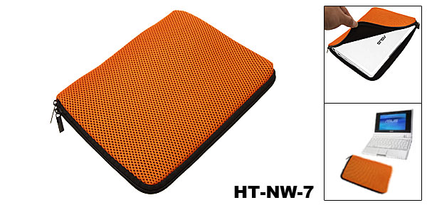 Orange Laptop Sleeve Case Bag for 7
