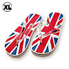 Elegant British Flag Soft Flip-Flop Ladies' Slippers Sandal