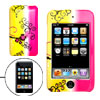 Colorful Plastic Case with Flower Pattern for iPod Touch 2G 2nd G...