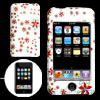 White Hard Plastic Case with Windmill Design for iPod Touch II 2n...