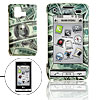 Hard Plastic Case with US Dollar Pattern for LG VX9700