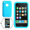 Skyblue Protective Anti-Slip Silicone Skin Case Cover for Apple iPhone 3G