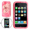 Pink Dog Photo Soft Silicone Case Protector for Apple iPhone 3G