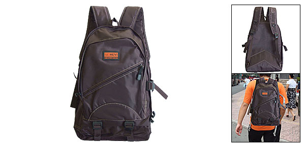 Big Brown Travel Knapsack Back Pack