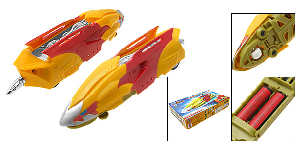 Kid's DIY Battery Powered Florid Lion King Fast Racing Car Toy