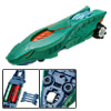 Green Snake Head Battery Powered Fast Racing DIY Kid's Car Toy