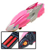 Florid Lion King Battery Operated Fast Racing Kid's DIY Car Toy Pink