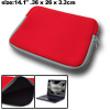 "14.1"" Red Laptop Notebook Holder Sleeve Carrying Case Bag"