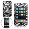 Zebra Pattern Plastic Hard Case Cover for iPod Touch 2G