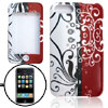 Colorful Flower Pattern Plastic Case for iPod Touch 2G