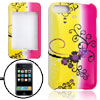 Hard Plastic Case with Flower Pattern for IPod Touch 2G