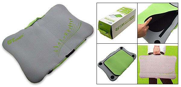 Neoprene 2 in 1 Carry Case Travel Bag Pad for Wii Fit Balance Board
