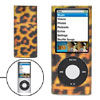 Leopard Print Plastic Case for New iPod Nano Chromatic 4G 4th Gen...