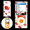 Cherry Pattern White Hard Plastic Case for iPod Nano Chromatic 4t...