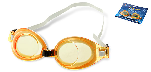 Fashion Youth Sport Safety Swim Swimming Pool Goggles Orange