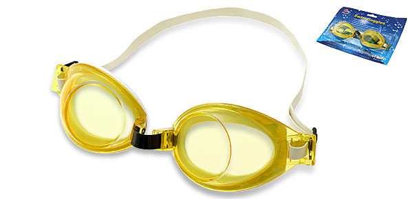 Fashion Youth Sport Yellow Swim Swimming Safety Pool Goggles