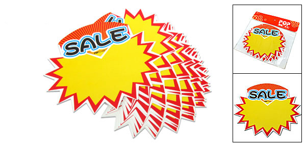 Advertising Point Sale Sign Card