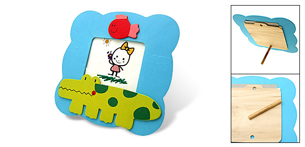 Decorative Cartoon Wooden Photo Holder Picture Frame