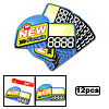 """ NEW \"" Advertising Point Sale Sign Card 12 Pcs"