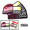 """ SALE "" Advertising Point Sale Sign Card 12 Pcs"