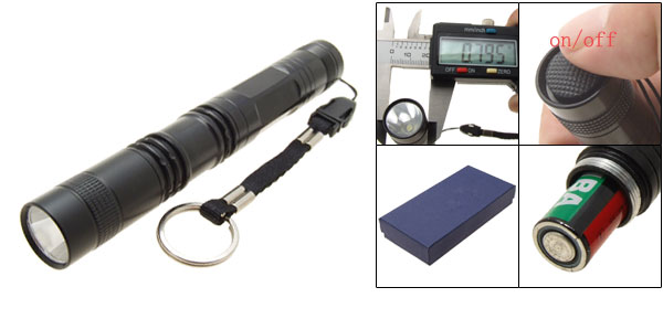 3W Ultimate Bright Handheld LED Torch Aluminum Alloy Body