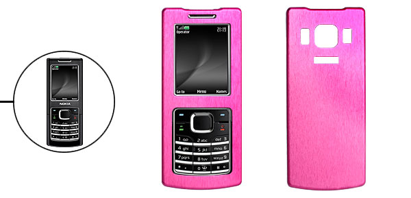 Hard Aluminum Metal Case Cover for Nokia 6500c 6500 Classic