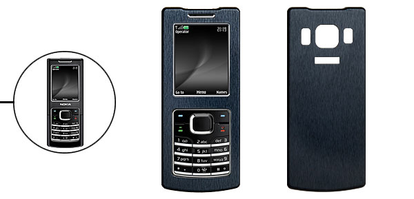 Aluminum Metal Case Cover for Nokia 6500c 6500 Classic